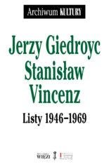 Okładka Listy Giedroyc-Vincenz