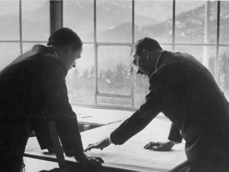Architektura nazistowska. Adolf Hitler i Albert Speer